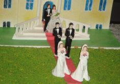 gleichgeschlechtliche Partnerschaften Gay Hochzeit Ehe für Alle