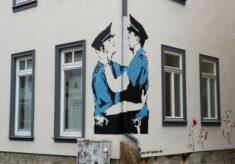 Veit Gossler Schmierereien am Graffiti