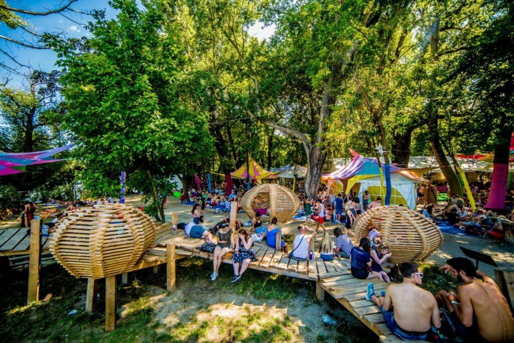 Sziget Festival Ungarn