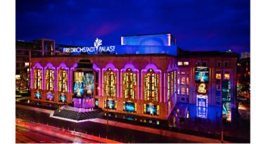 Maßnahmen gegen Homophobie - Friedrichstadtpalast Berlin