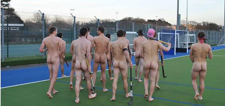 Nackte Sportler Umkleide Jungs