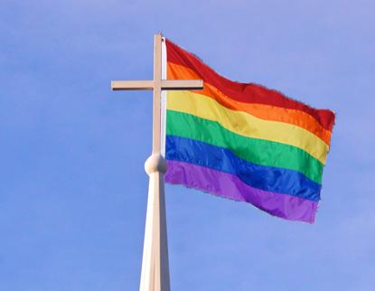 Gays Hurrikane und die Kirche