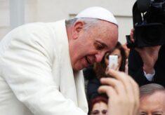Recht haben, Papst Franziskus