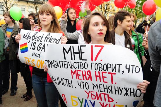 homophobes Russland Leben in Russland