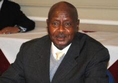 Aids-Gesetz in Uganda. Verantwortlich: Präsident Museveni